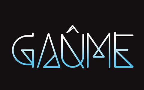 Gaûme, folk rock songs, logo smartphone